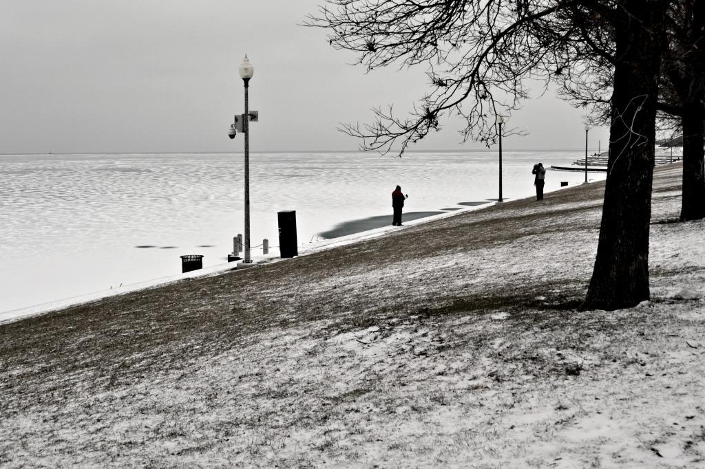 We enjoy taking pictures even when days are below zero.