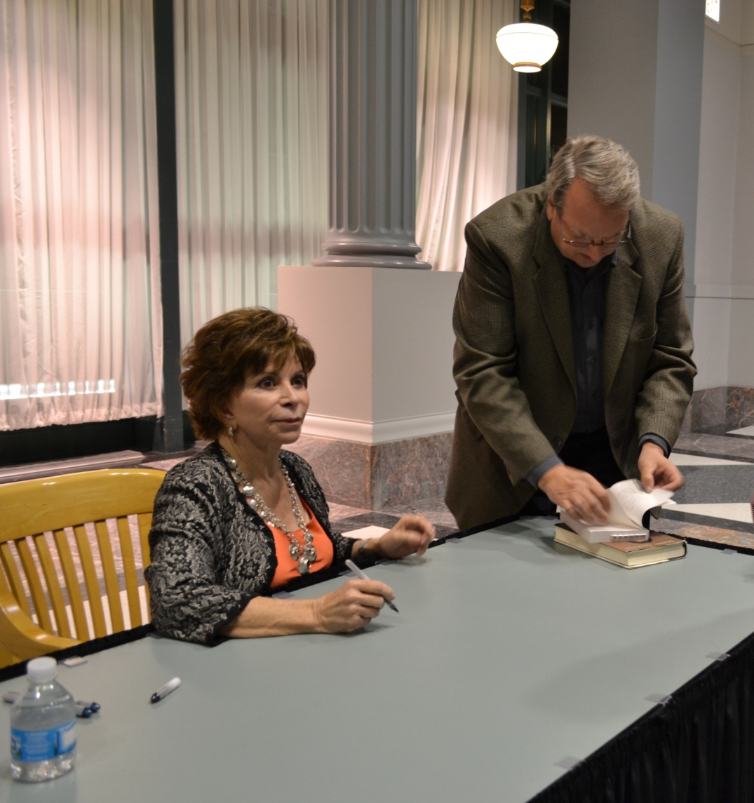 Writer Isabel Allende | Harold Washington Library | Chicago