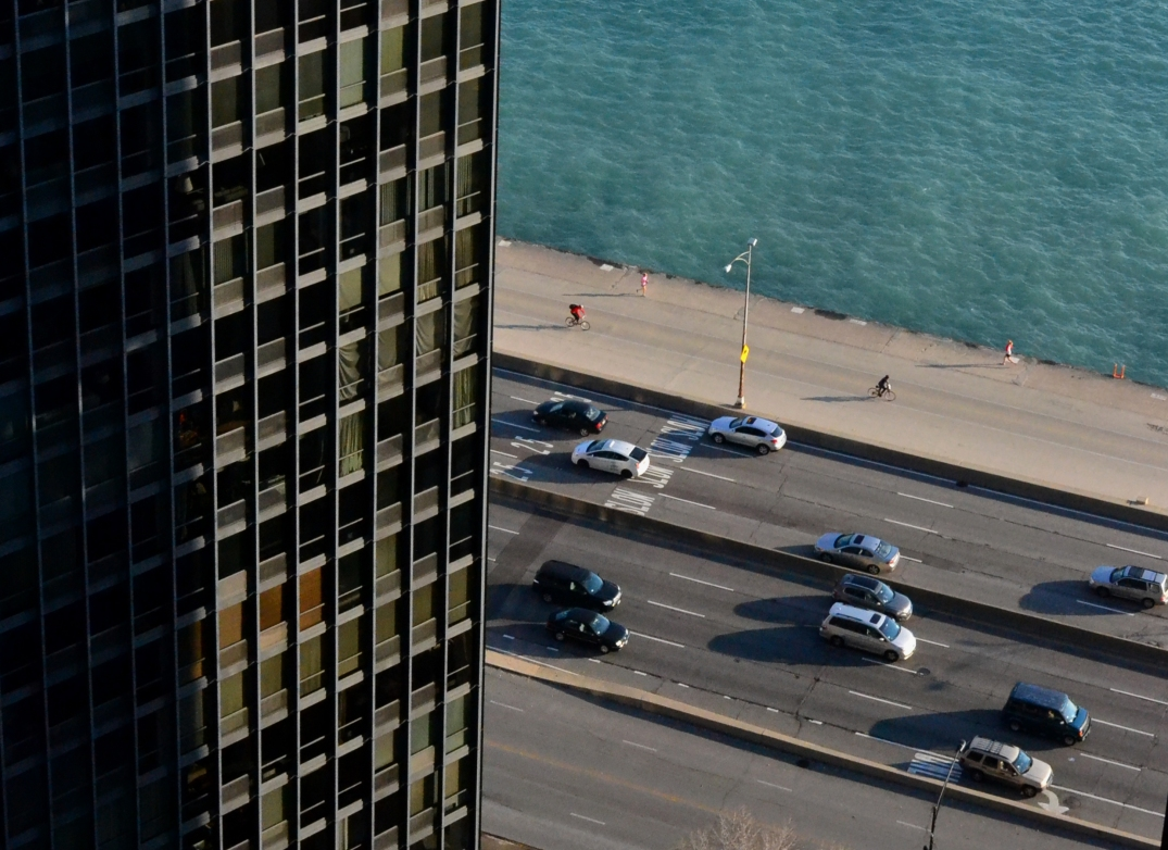 Daily Commute | Lake Shore Drive, Chicago, October 27th 2014