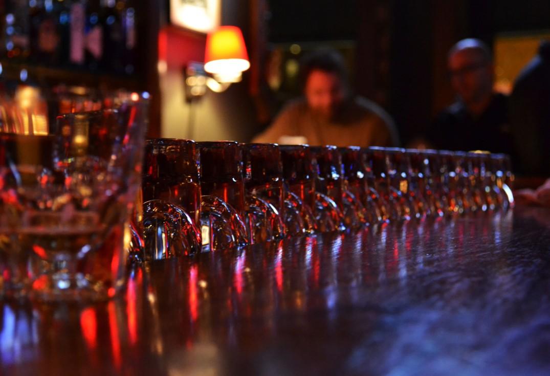 Waiting Line of Shots - Bucktown Pub | Chicago |