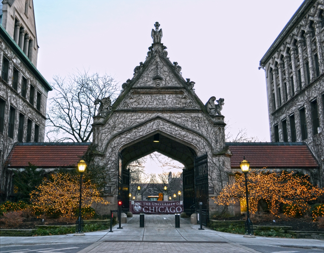 Entrance | University of Chicago | Main Quad | Hyde Park, Chicago |