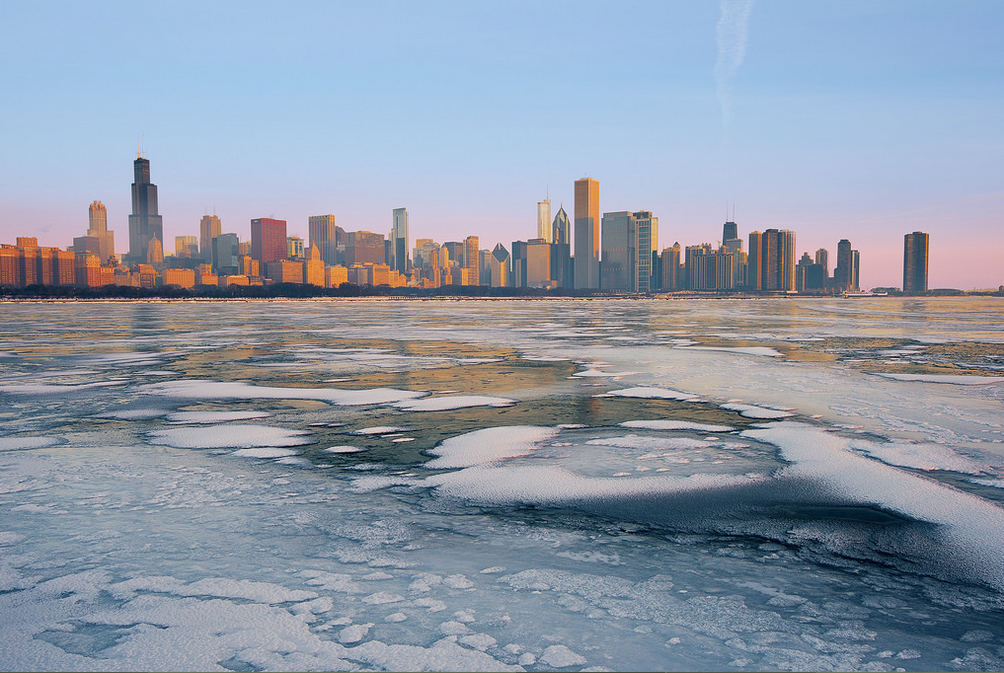 Chicago in Winter. Photo by Brian Koprowski