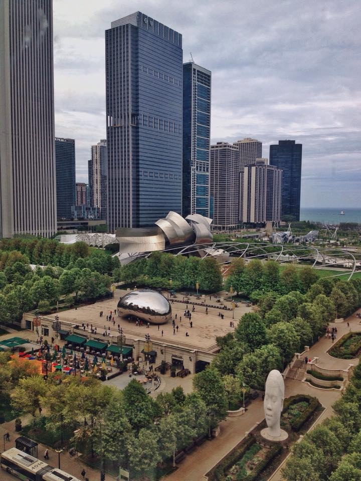 View from 13th floor | Dr. Bain's office | Chicago |